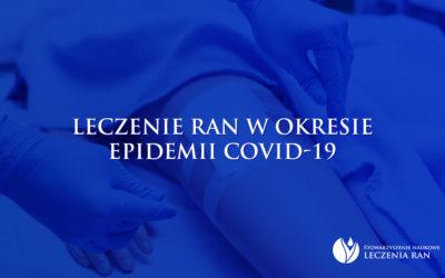 Stanowisko SNLR: postępowanie dotyczące leczenia ran w okresie epidemii COVID-19