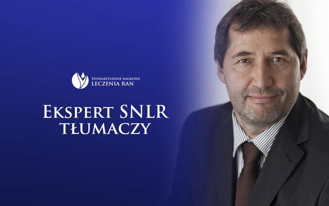 Ekspert SNLR tłumaczy: wywiad z prof. Tomaszem Banasiewiczem