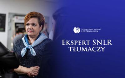 Ekspert SNLR tłumaczy: wywiad z mgr Anną Mirosz i nagranie webinaru