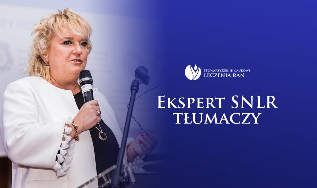 Ekspert SNLR tłumaczy: wywiad z prof. Marzenną Bartoszewicz
