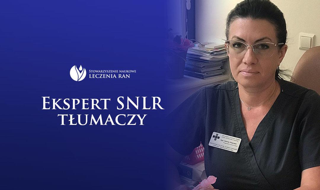Ekspert SNLR tłumaczy: wywiad z mgr Joanną Piszczek